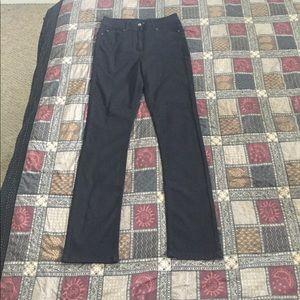Long Tall Sally Black Jeans Straight Cut